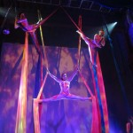 Trio Silks on Five SIlks
