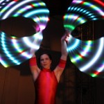 Hula hoops with Glow Hoops
