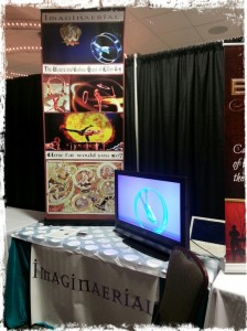 Our booth at OAPN!